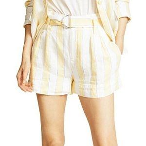 Frame Linen Shorts